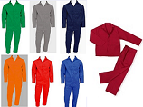 Red work suits