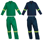 conti suit work suits with tape
