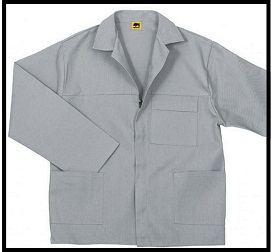 Grey 2/piece Conti Suit overalls (80/20 poly cotton) with YKK Zips R100.00