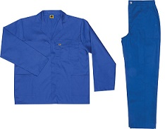 100% cotton overalls