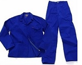 Royal Blue conti suit work suits