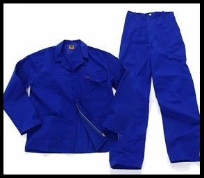 Royal Blue 2/piece Conti Suit overalls (80/20 poly cotton) with YKK Zips (Special Offer) R85.00