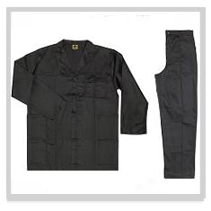 Black Conti Suit Overalls