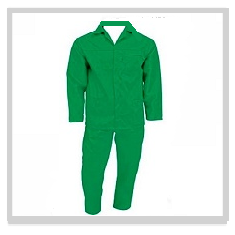 Emerald Green Conti Suit Overalls