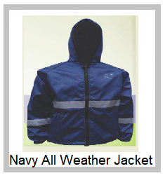 Navy All Weather Jacket