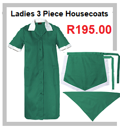 Ladies 3 Piece Housecoats