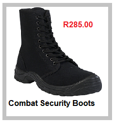 Passion Combat Security Safety Boots