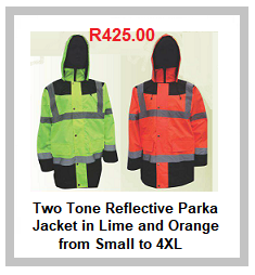 Two Tone Reflective Parka Jackets