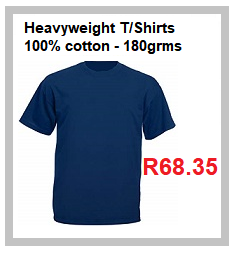 Heavyweight T Shirt 180grams