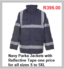 Navy Parka Jackets