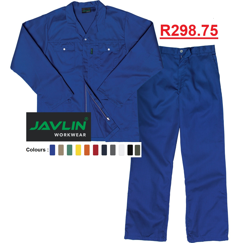 Javlin Premium Poly Cotton Conti Suit Overalls