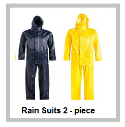 Rubberised Rainsuits