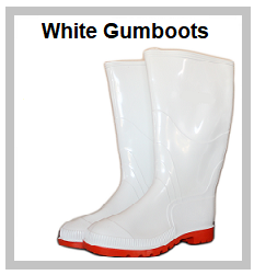 White Gumboots
