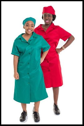 Ladies Canteen Coat Overalls in all Workwear Colours
