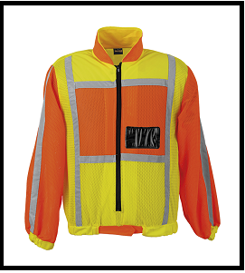 Long Sleeve Reflective Jacket