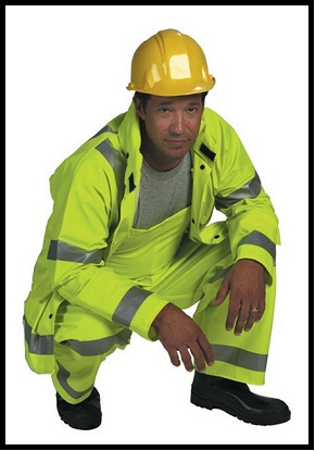 Reflective Workwear Overalls