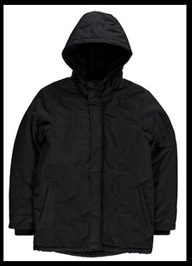 Revtec Black Winter jackets with hood