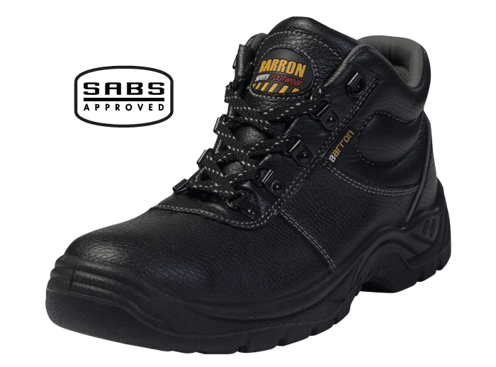 Barron Defender Safety Boots - SABS Approved