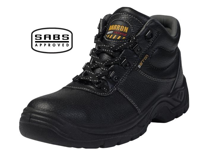 Barron Defender Safety Boots - SABS Approved