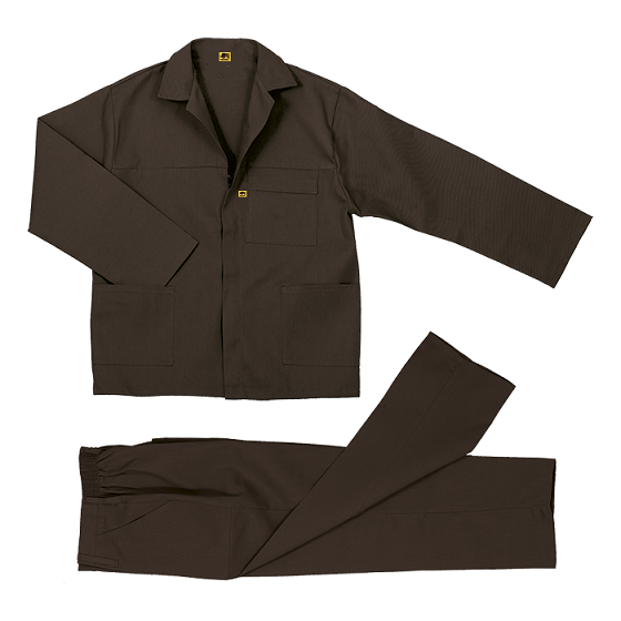 Brown Conti Suit Overalls