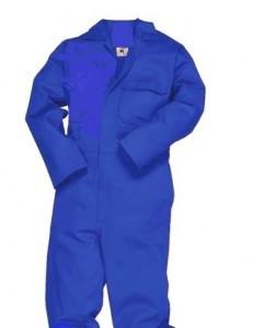 Royal Blue One Piece Boiler Suit Overalls (poly cotton) : R120.00