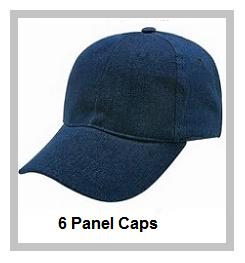 6 Panel Caps