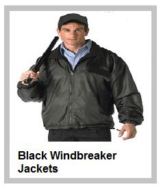 Black Windbreaker Jackets