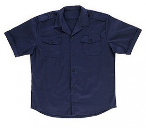 Navy Short Sleeves Pilot Combat Security Shirts