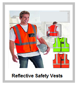 Reflective Vests with Zip Front