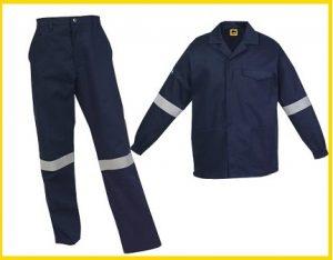 Flame Retardant conti suit overalls - 100p cotton - 280gm2