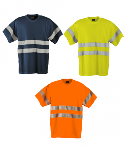 Barron Poly Cotton 150gm T Shirts with Reflective Tape