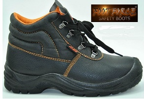 Foot Force Safety Boots with steel toe cap and steel midsole