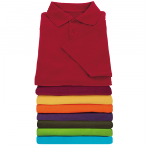 Golf Shirts (pique knit) 100% cotton - 180 grams
