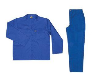 Royal Blue 2piece conti suit overalls (100% cotton - 220gm2)