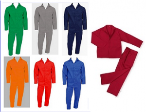Assorted Colours Conti Suit Overalls