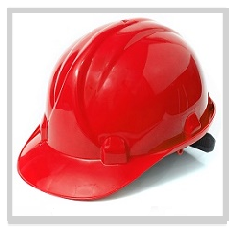 Red Hard Hats