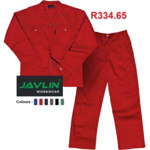 Javlin Premium J54 - 100% Cotton Conti Suit Overalls