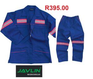 Javlin Premium Womens Reflective Conti Suit Overalls