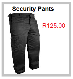 Combat Security Pants