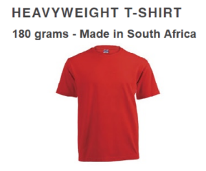 Vicbay Heavyweight T/Shirts - 100% cotton – 180 grams
