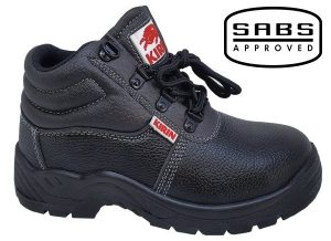 Pinnacle Kirin Safety Boots with Steel Toe Caps (SABS)
