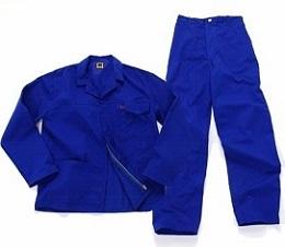 Royal Blue Conti Suit Overalls J54 - 100% cotton