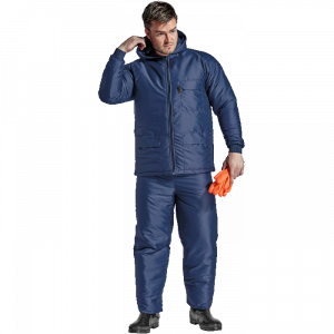 Navy Padded Freezer Suit
