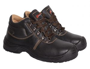 Pioneer Safety Boots with Steel Toe Caps and Steel Midsole